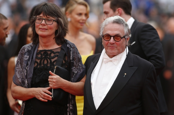 George Miller and Margaret Sixel at the 68th Cannes Film Festival