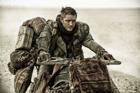 Tom Hardy as Mad Max.