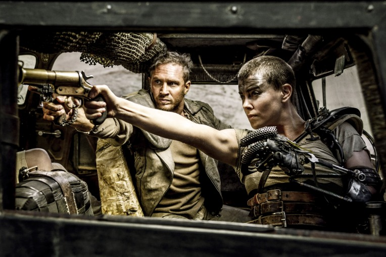 Charlize Theron as Imperator Furiosa.