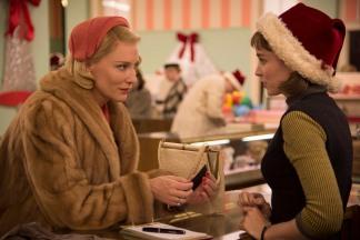 Carol and Therese in 'Carol'