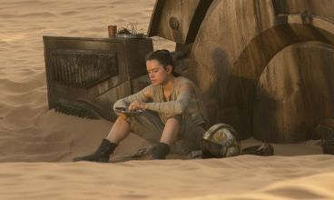 Rey from 'Star Wars: The Force Awakens'
